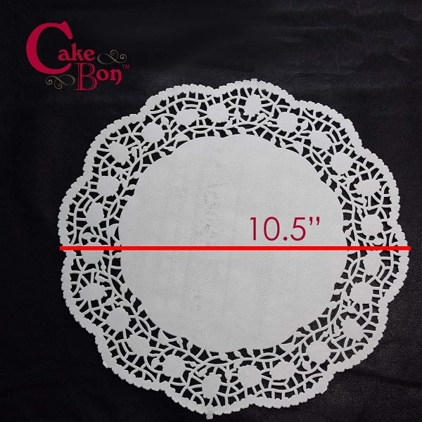10.5 Round Paper Lace Doilies_1