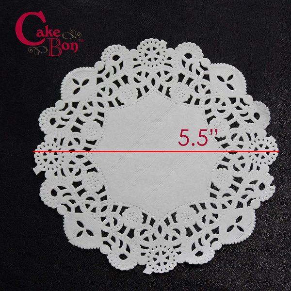 5.5 Round Paper Lace Doilies_1