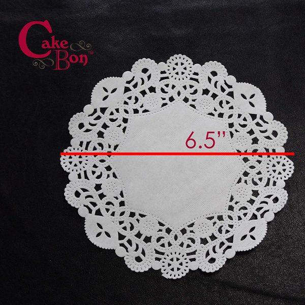 6.5 Round Paper Lace Doilies_1