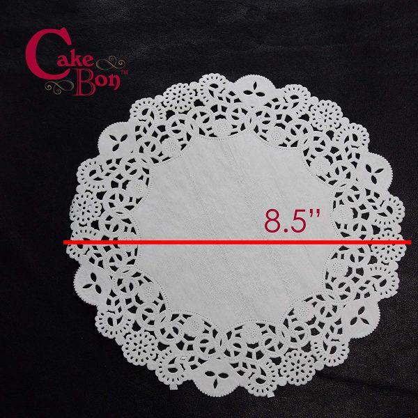 8.5 Round Paper Lace Doilies_1
