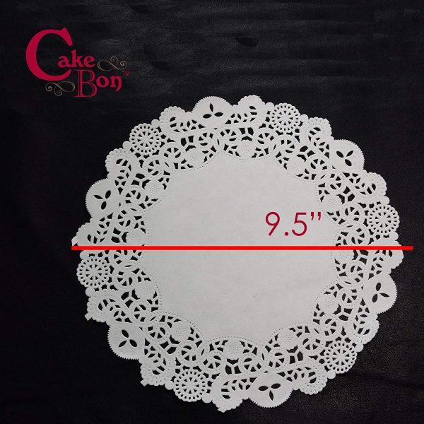 9.5 Round Paper Lace Doilies_1