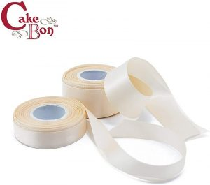 Satin Cake Ribbon by Cakebon