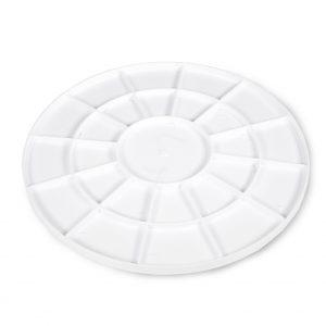 12 Inch Cake Board Plastic White Half Inch Thick Cakebon