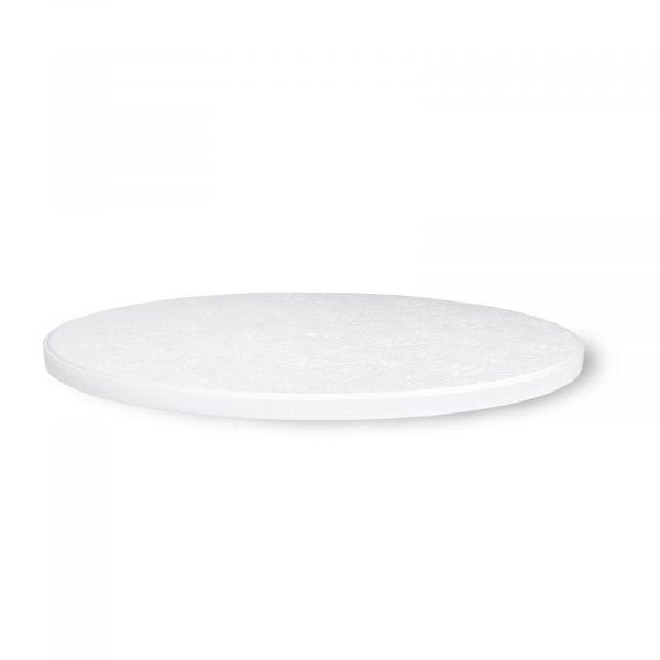 White Plastic Cake Board 12 Inch Cakebon
